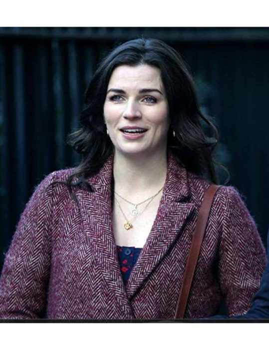 living with yourself aisling bea wool coat