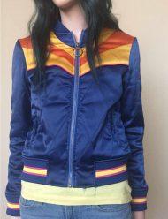 stumptown cobie smulders satin jacket