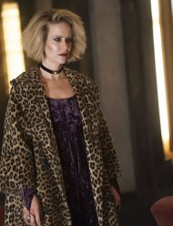 American Horror Story Sarah Paulson wool blend Coat