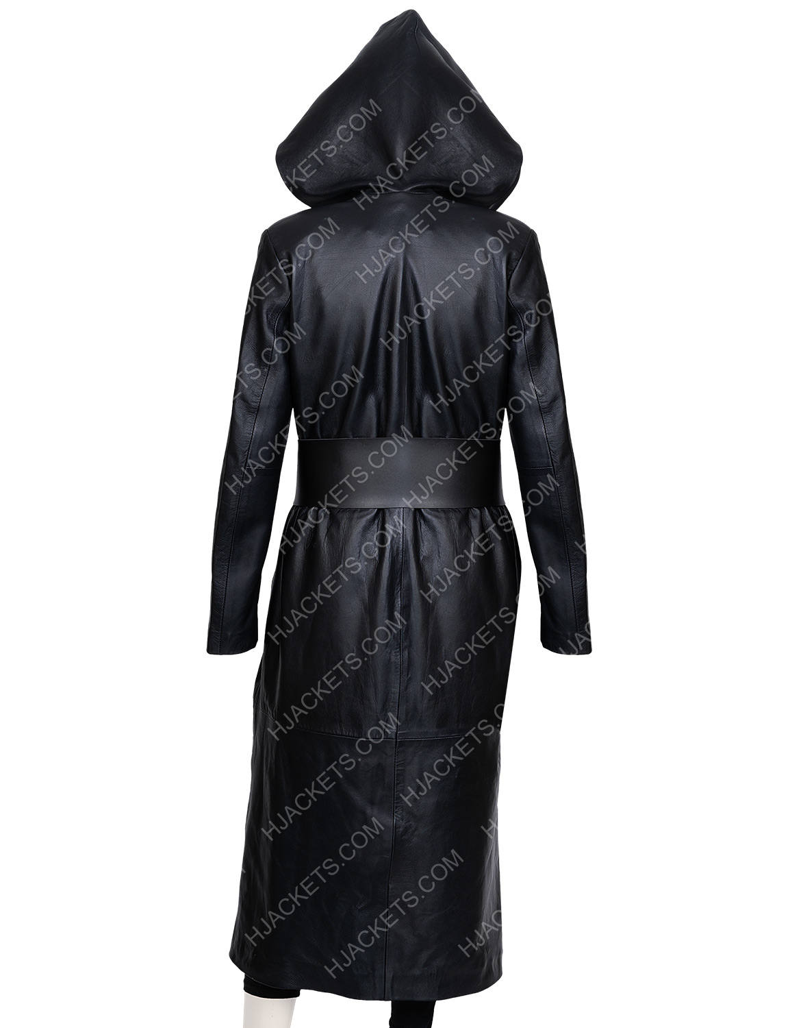 Angela Abar Watchmen Long Coat Regina King Hooded Coat