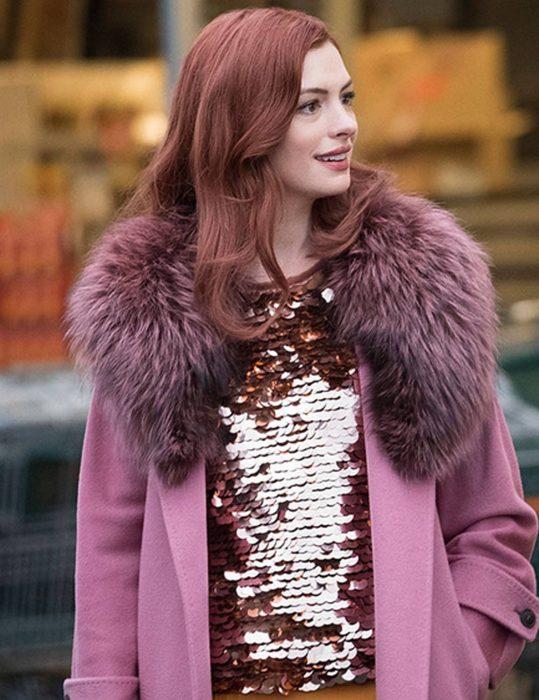 Anne Hathaway Modern Love Lexi Coat