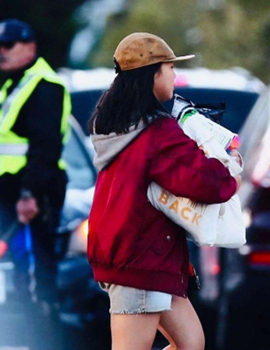 Birds Of Prey Cassandra Cain Red Hooded Jacket