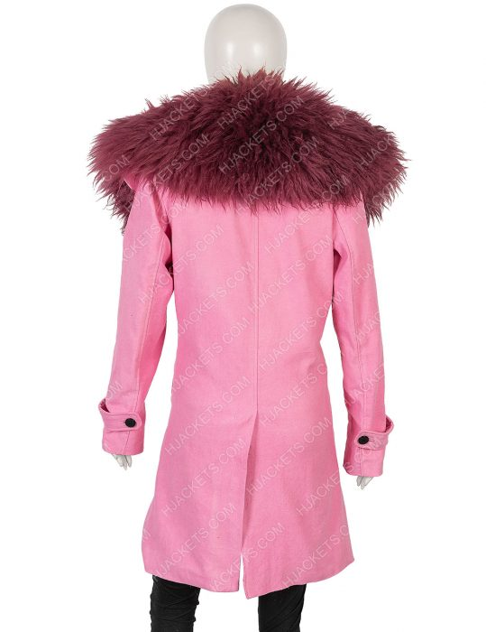 Lexi Anne Hathaway Modern Love Pink Coat