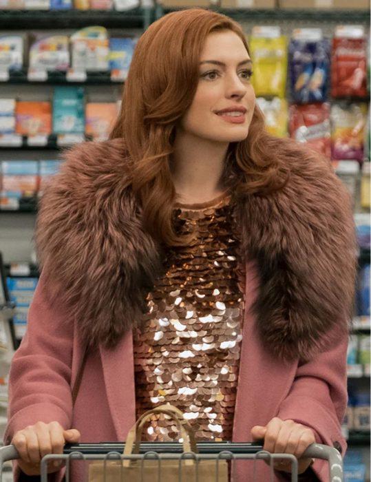 Lexi Modern Love Anne Hathaway Coat