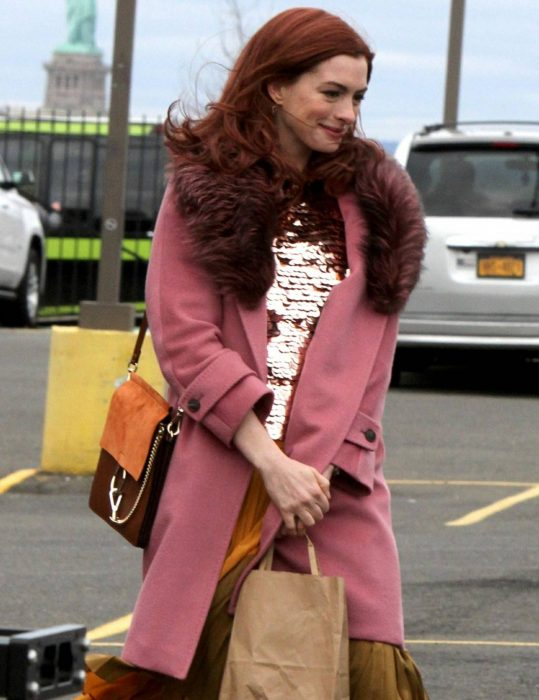 Modern Love Lexi Pink Trench Coat