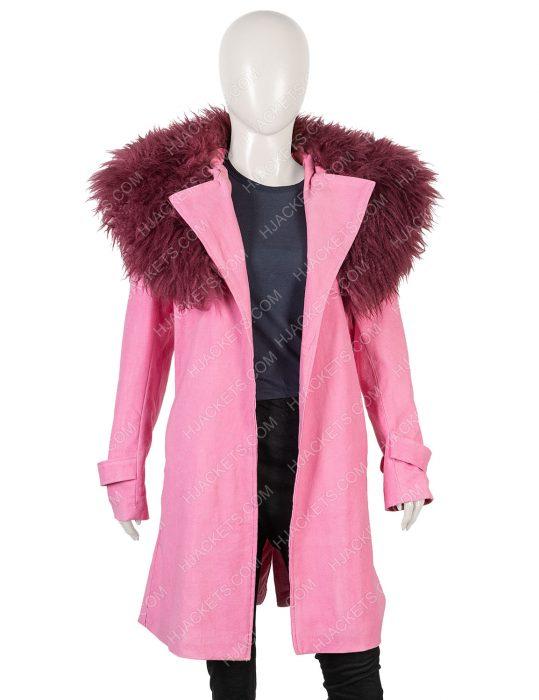 Modern Love Pink Coat
