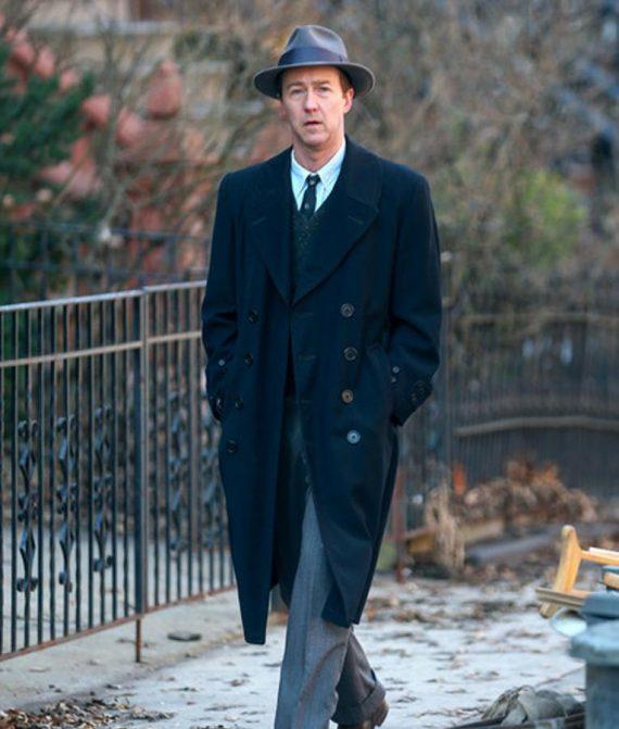 Motherless Brooklyn Lionel Essrog Black Coat