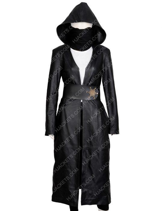 Regina King Watchmen Angela Abar Coat