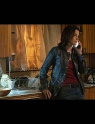 stumptown cobie smulders black jacket