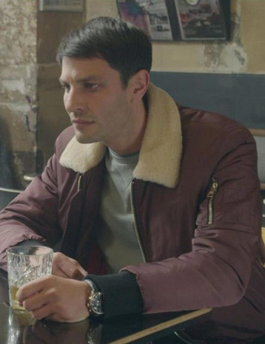 the hook up plan jules shearling jacket