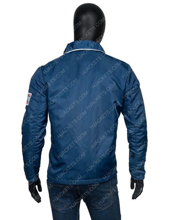 Carroll Shelby Ford v Ferrari Matt Damon Parachute Jacket