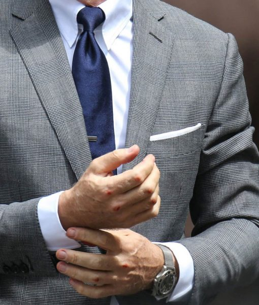 Daniel Craig James Bond No Time To Die Glen Check Suit
