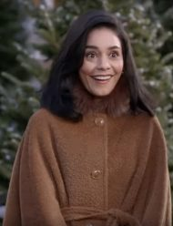 The Knight Before Christmas Brooke Brown Coat