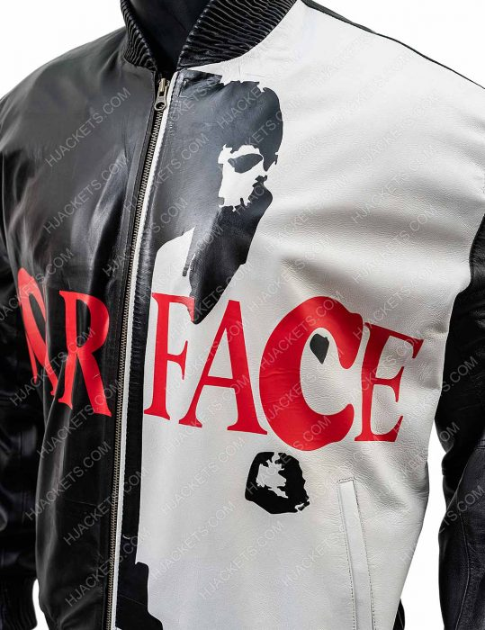 Tony Montana Scarface Leather Jacket