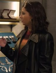 charlie's angels elena houghlin leather jacket