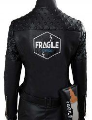 death stranding fragile express leather jacket