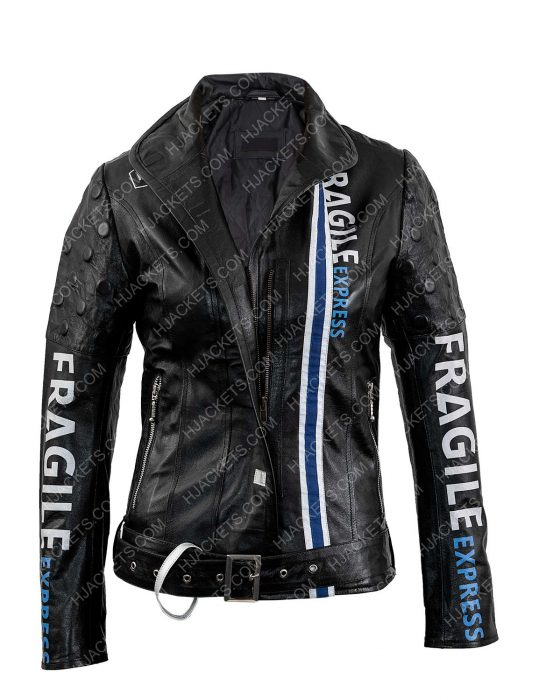 fragile express leather jacket