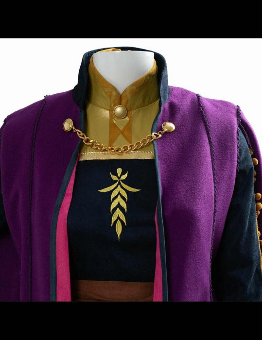frozen II anna kristen bell coat - Hjackets