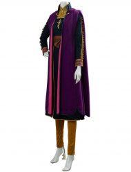 frozen II anna kristen bell purple coat