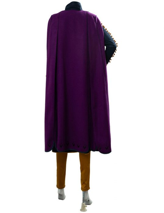 frozen II anna wool coat