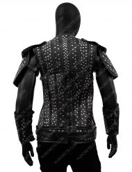 geralt of rivia leather jacket