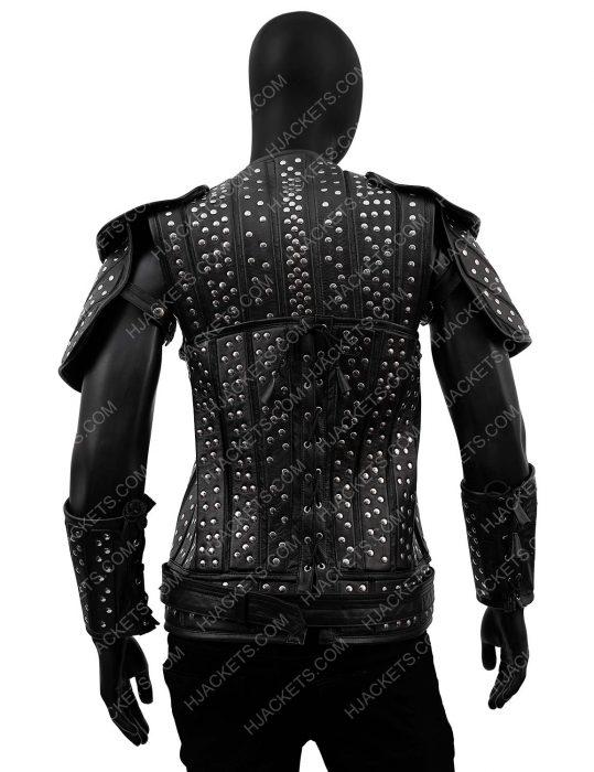 geralt of rivia leather jacket