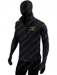 john dutton yellowstone black wool vest