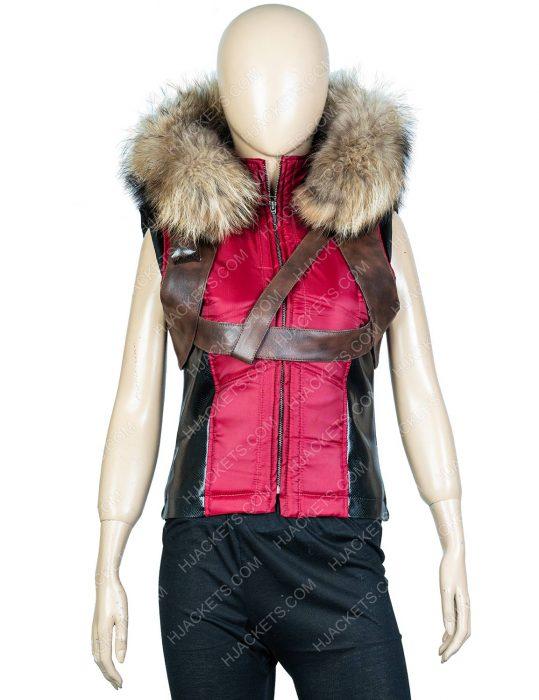 jumanji the next level karen gillan hooded vest