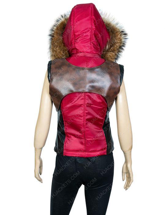 karen gillan jumanji the next level leather vest