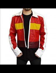 keith kogane red yellow strip jacket
