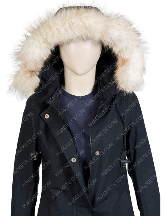 let it snow isabela monor coat