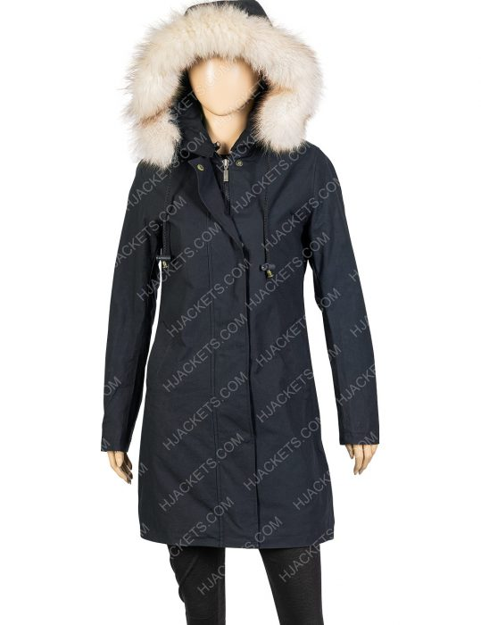 let it snow isabela monor cotton coat
