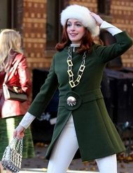 lexi modern love green coat
