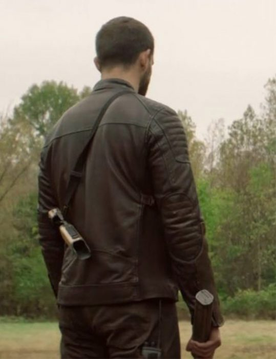 the walking dead world beyond felix brown jacket