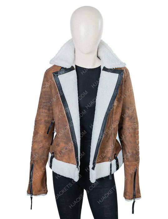 Virgin River Melinda Monroe Shearling Jacket