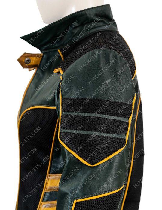 Arrow Black Canary Leather Jacket