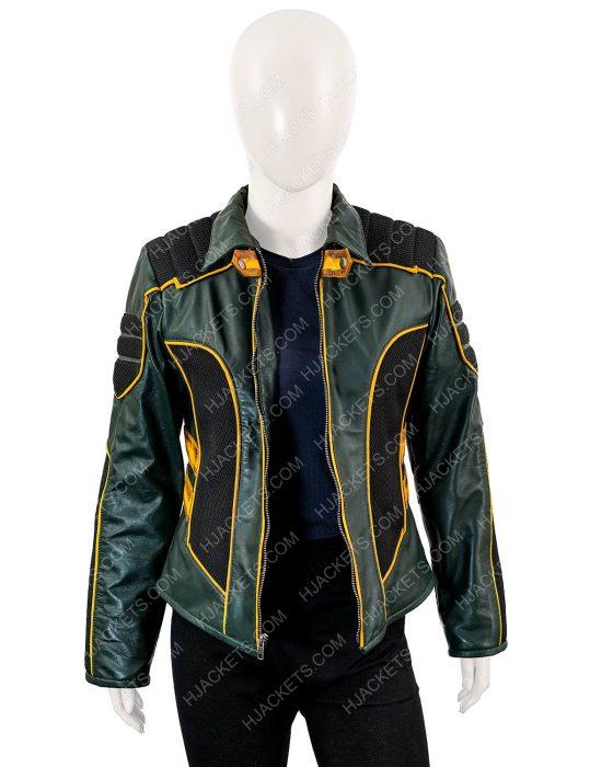 Arrow Katie Cassidy Leather Jacket