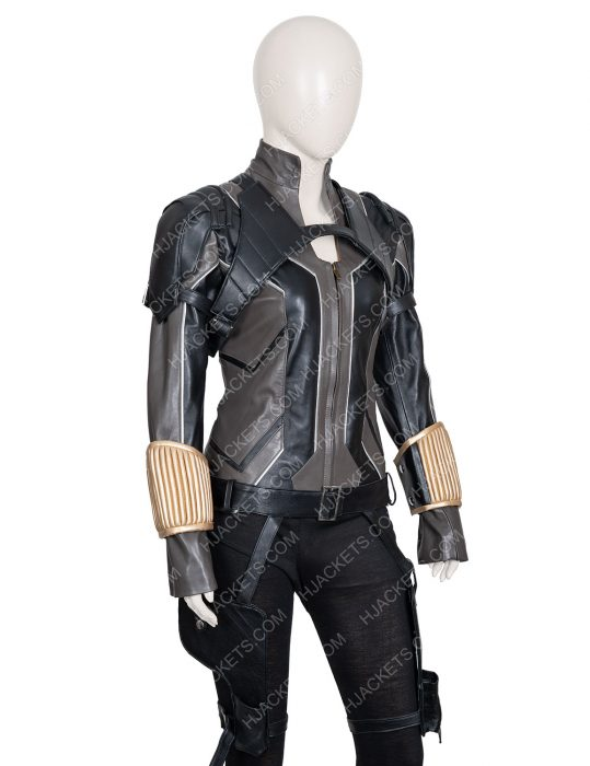 Black Widow 2020 Black Jacket