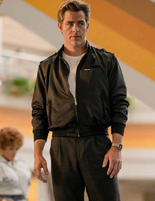 Chris Pine Wonder Woman 1984 Steve Trevor Bomber Jacket