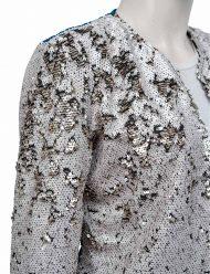 Harley Quinn Birds Of Prey Margot Robbie Sequin Long Duster Coat