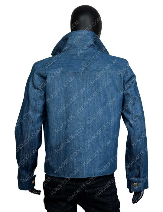 Joe Goldberg You Season 2 Penn Badgley Denim Jacket