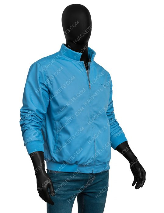 Ryan Reynolds Free Guy Blue Jacket