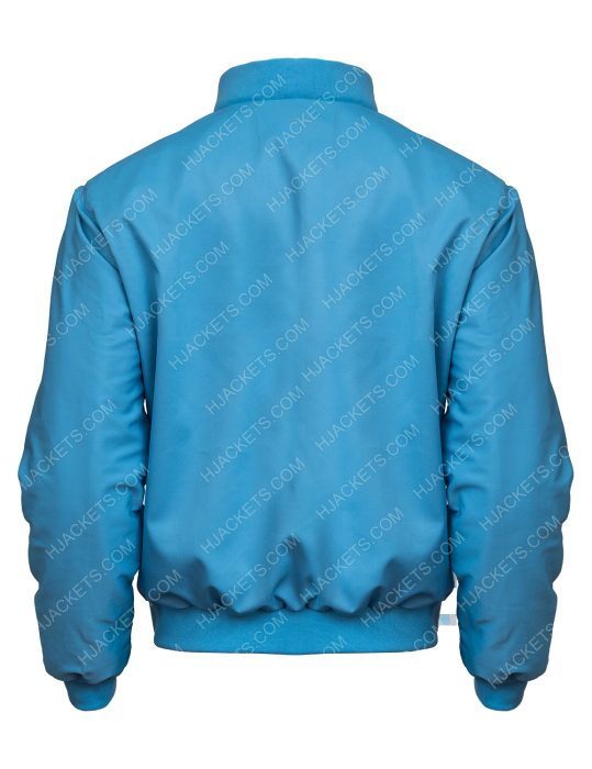 Ryan Reynolds Free Guy Bomber Blue Jacket
