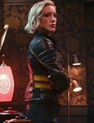 arrow-katie cassidy-season-8-leather-jacket
