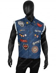barley lightfoot denim vest