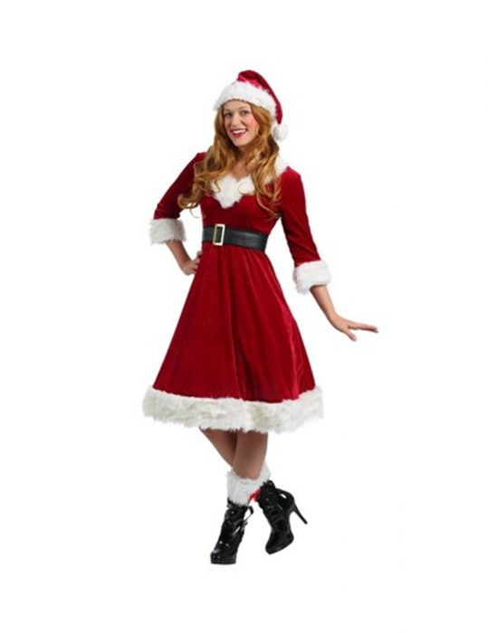 santa claus costume for women