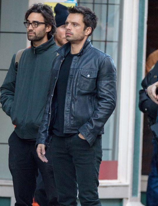 the falcon and the winter soldier sebastian stan leather jacket