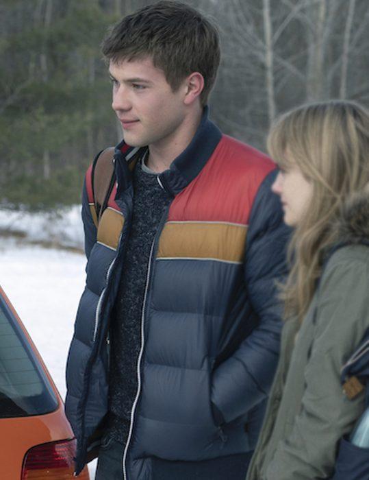 Connor Jessup Locke & Key Tyler Locke puffer Jacket