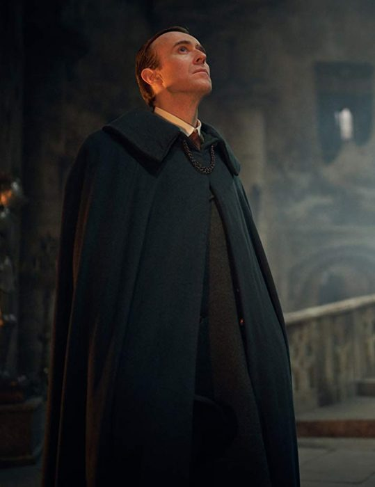 dracula black cape