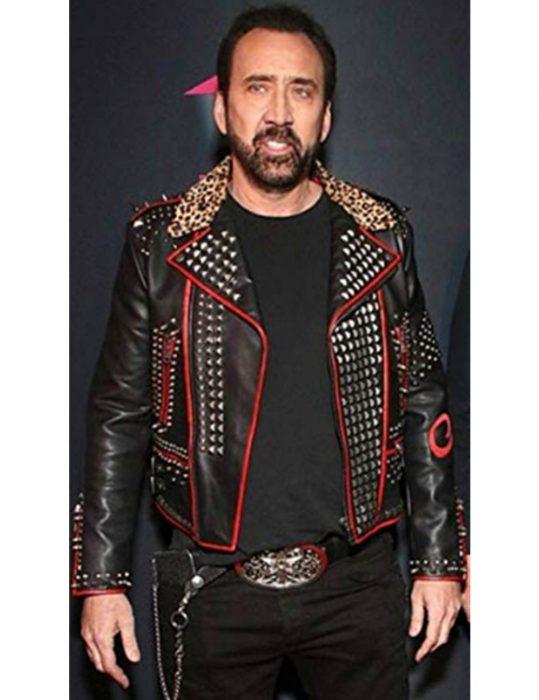 nicolas-cage-black-studd-leather-jacket